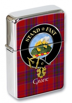 Grant English Scottish Clan Flip Top Lighter