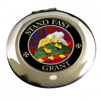 Grant English Scottish Clan Chrome Mirror