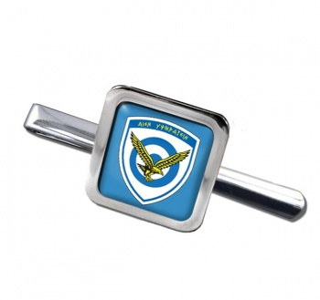 Hellenic Air Force (Greece) Square Tie Clip