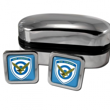 Hellenic Air Force (Greece) Square Cufflinks