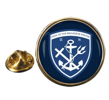 Hellenic Navy (Greece) Round Pin Badge