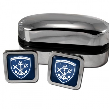 Hellenic Navy (Greece) Square Cufflinks