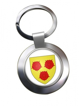 Grenoble (France) Metal Key Ring
