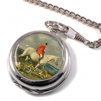 Grey Hunter Pocket Watch