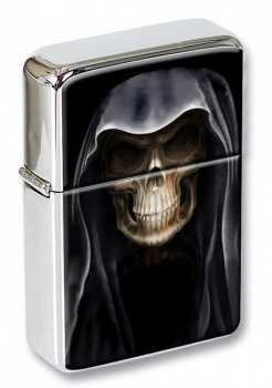 Grim Reaper Flip Top Lighter