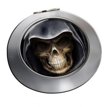 Grim Reaper Chrome Mirror