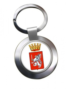 Grosseto (Italy) Metal Key Ring