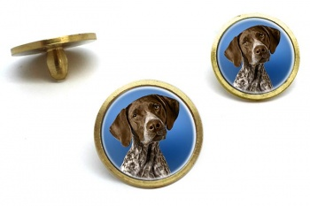 German Shorthaired Pointer  Golf Ball Marker Set