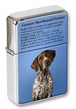 German Shorthaired Pointer Flip Top Lighter