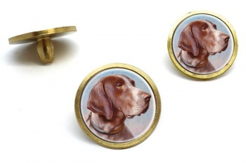 German Shorthaired Pointer by Carl Reichert  Golf Ball Marker Set