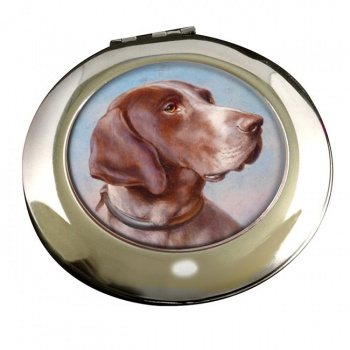 German Shorthaired Pointer by Carl Reichert Mirror