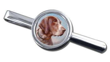 German Shorthaired Pointer by Carl Reichert Tie Clip