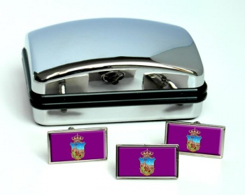 Guadalajara (Spain) Flag Cufflink and Tie Pin Set