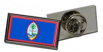 Guam Guahan Flag Pin Badge