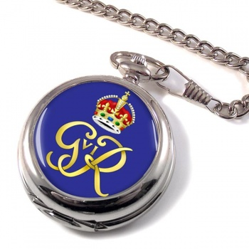 George VI monogram  Pocket Watch