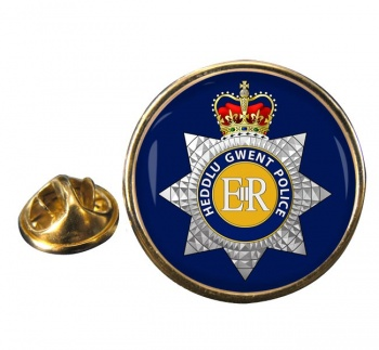 Gwent Police Round Pin Badge