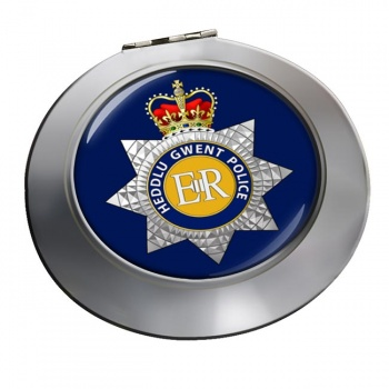 Gwent Police Chrome Mirror