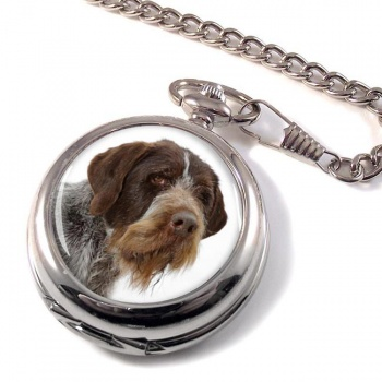 German Wirehaired Pointer Pocket Watch