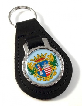 Gyor Leather Key Fob