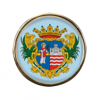 Gyor Round Pin Badge