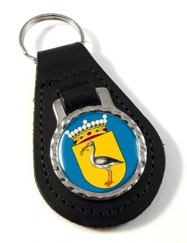 Den Haag The Hague (Netherlands) Leather Key Fob