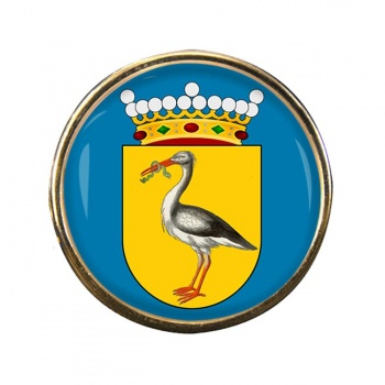Den Haag The Hague (Netherlands) Round Pin Badge