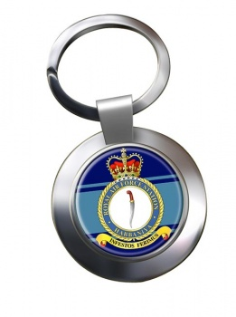 RAF Station Habbaniya Chrome Key Ring