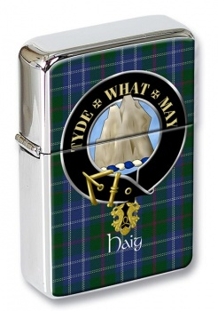 Haig Scottish Clan Flip Top Lighter