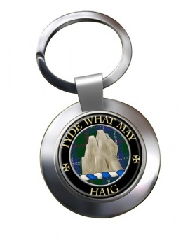 Haig Scottish Clan Chrome Key Ring