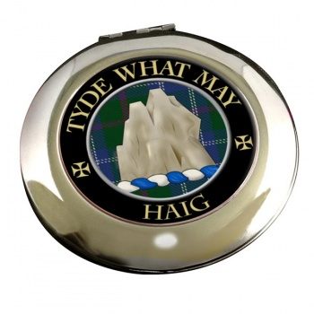 Haig Scottish Clan Chrome Mirror