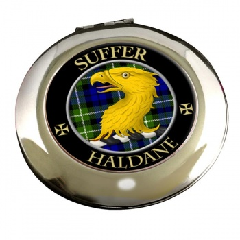 Haldane Scottish Clan Chrome Mirror