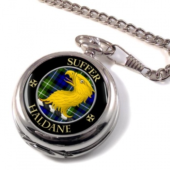 Haldane Scottish Clan Pocket Watch
