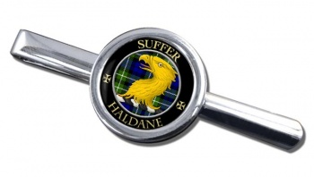 Haldane Scottish Clan Round Tie Clip
