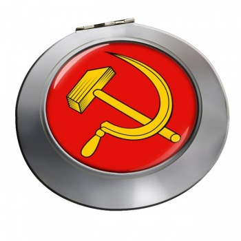 Hammer and Sickle Chrome Mirror