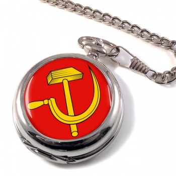 Hammer and Sickle Pocket Watch
