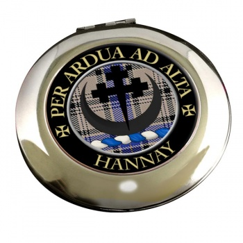 Hannay Scottish Clan Chrome Mirror