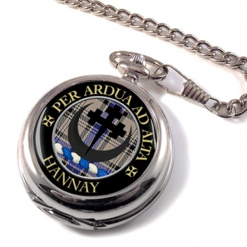 Hannay Scottish Clan Pocket Watch
