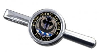 Hannay Scottish Clan Round Tie Clip