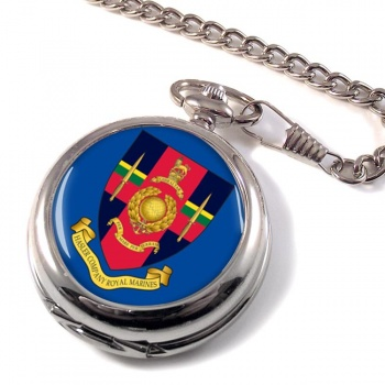 Hasler Company Royal Marines Pocket Watch