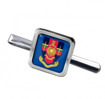 Hasler Company Royal Marines Square Tie Clip