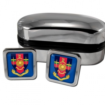 Hasler Company Royal Marines Square Cufflinks