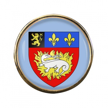 Le Havre (France) Round Pin Badge