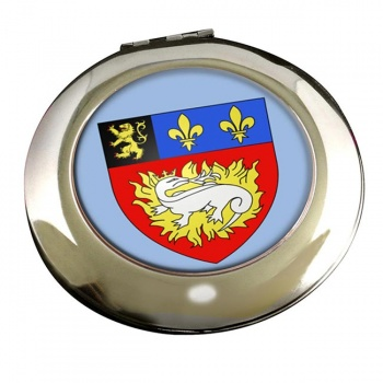 Le Havre (France) Round Mirror