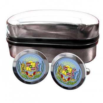 Hawaii  Crest Cufflinks