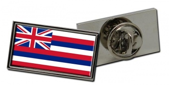 Hawaii  Flag Pin Badge