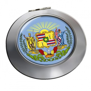 Hawaii  Round Mirror