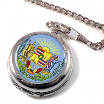 Hawaii USA Pocket Watch