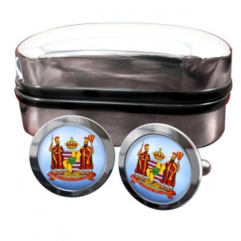 Kingdom of Hawaii Crest Cufflinks