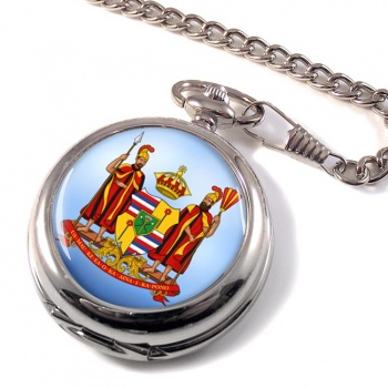 Kingdom of Hawaii Pocket Watch