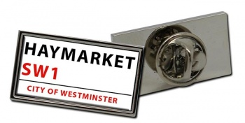 Haymarket Rectangle Pin Badge